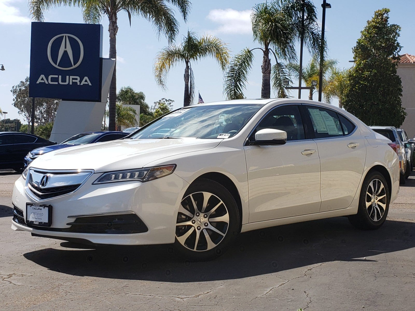Pre-Owned 2016 Acura TLX Base (DCT)