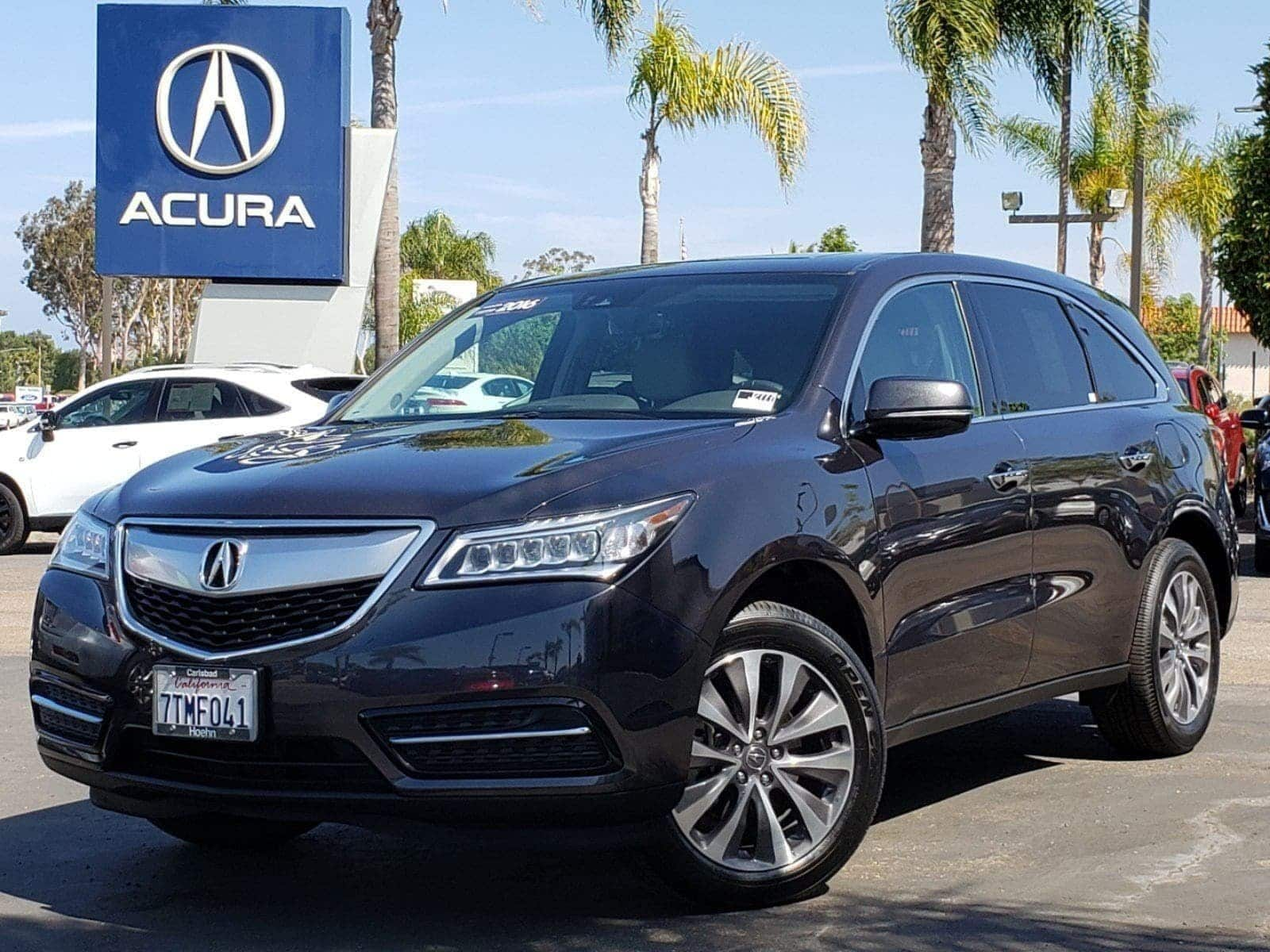 Pre-Owned 2016 Acura MDX MDX SH-AWD with Technology