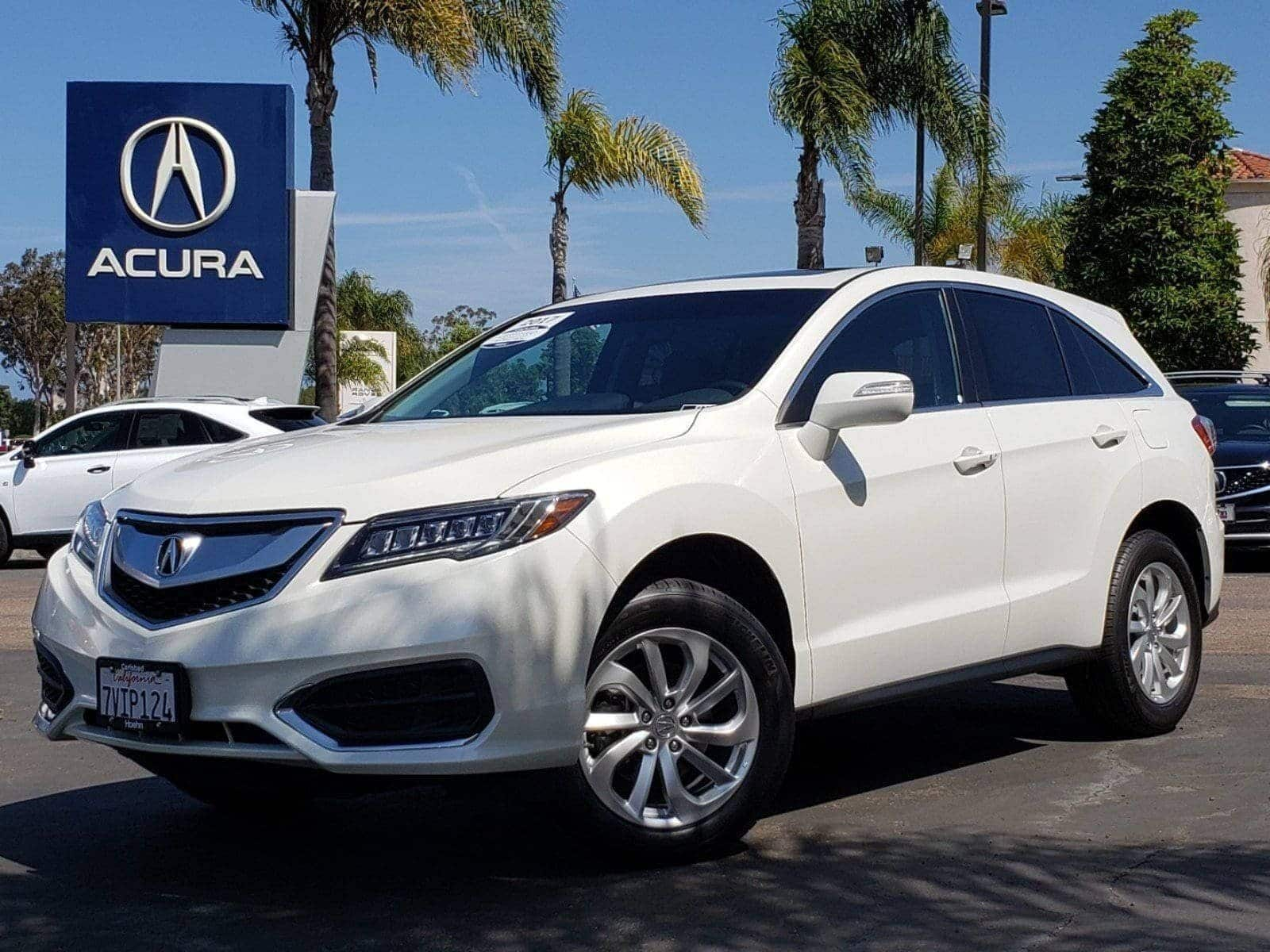 Pre-Owned 2017 Acura RDX V6 with Technology Package