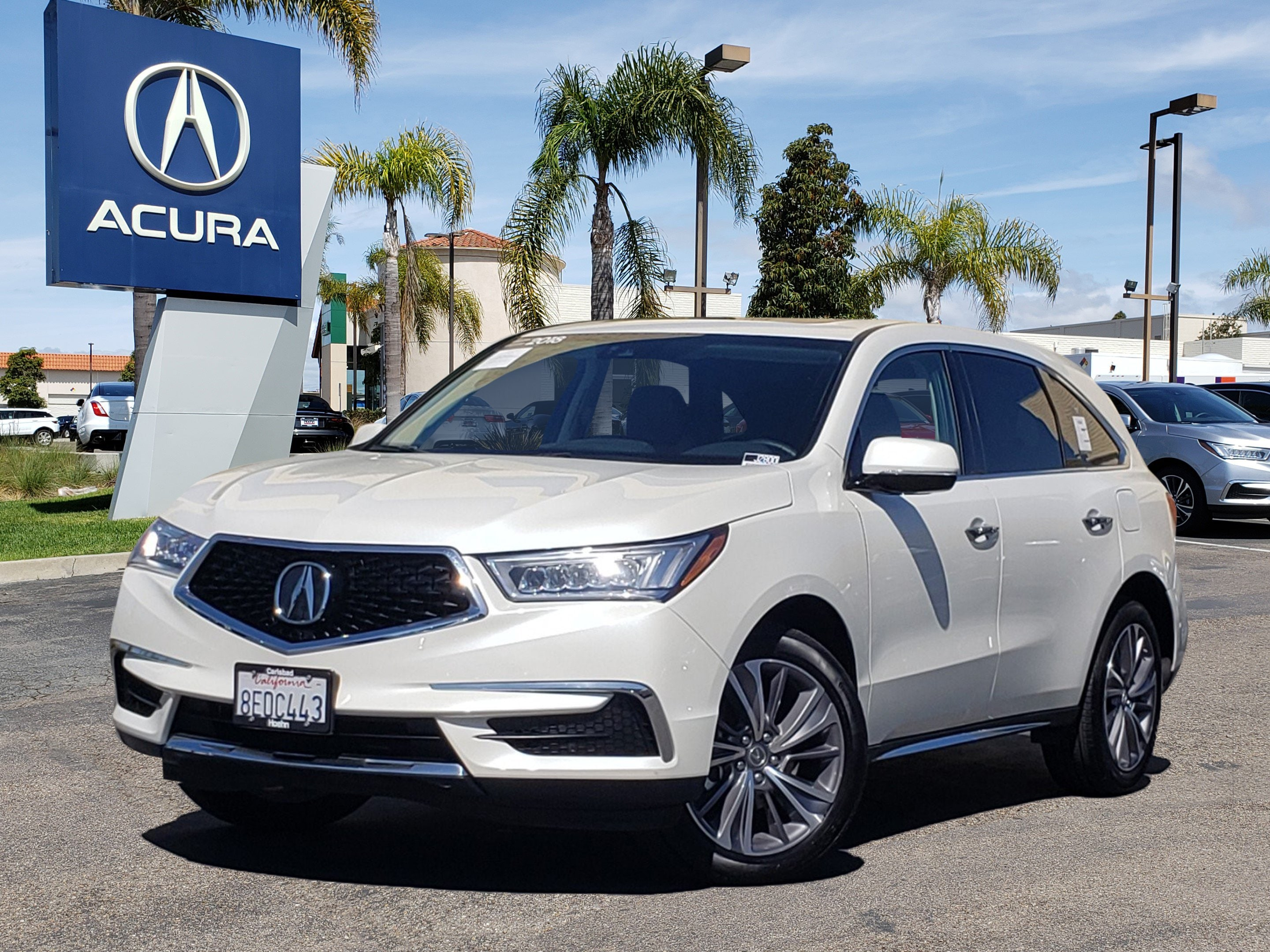Pre-Owned 2018 Acura MDX V6 with Technology Package