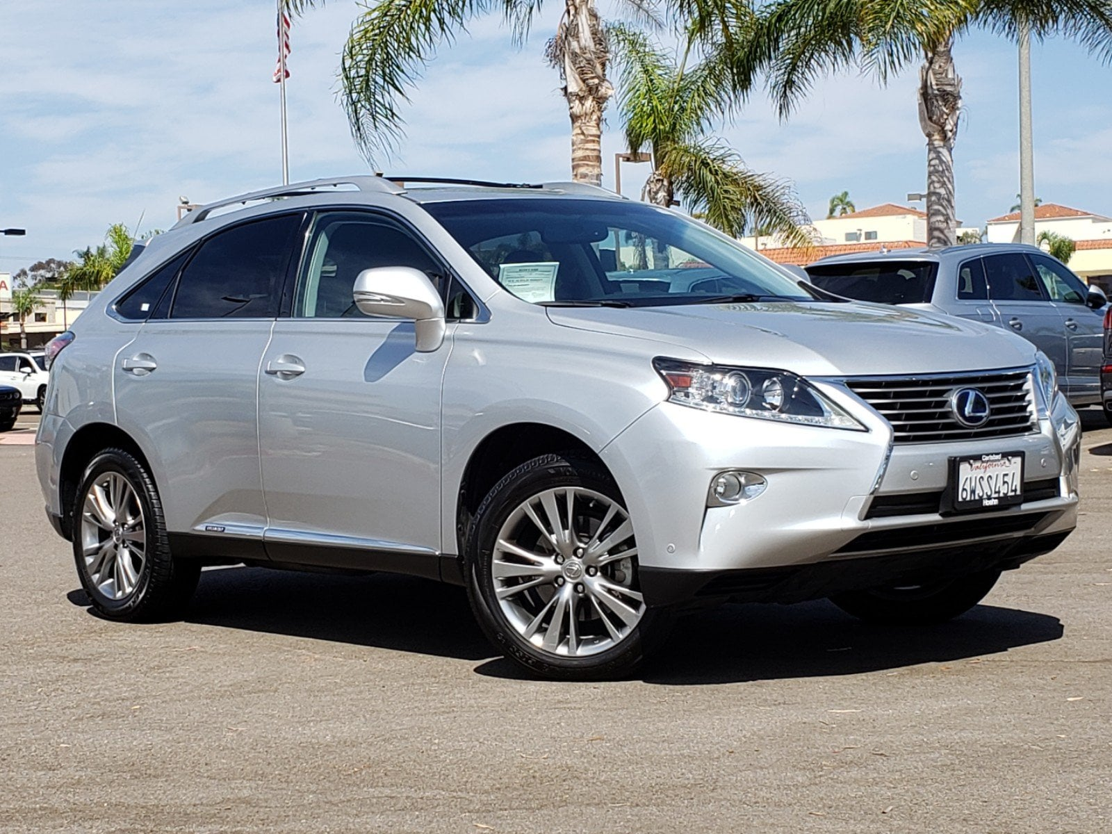 Pre-Owned 2013 Lexus RX450H Base