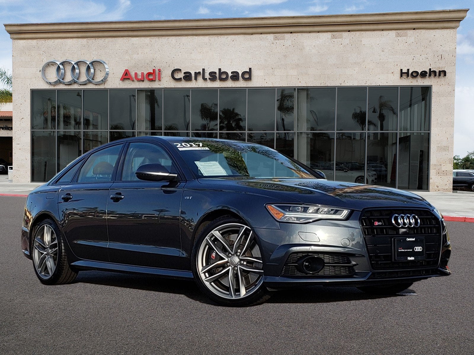Pre-Owned 2017 Audi S6 Q S 4.0T Premium Plus