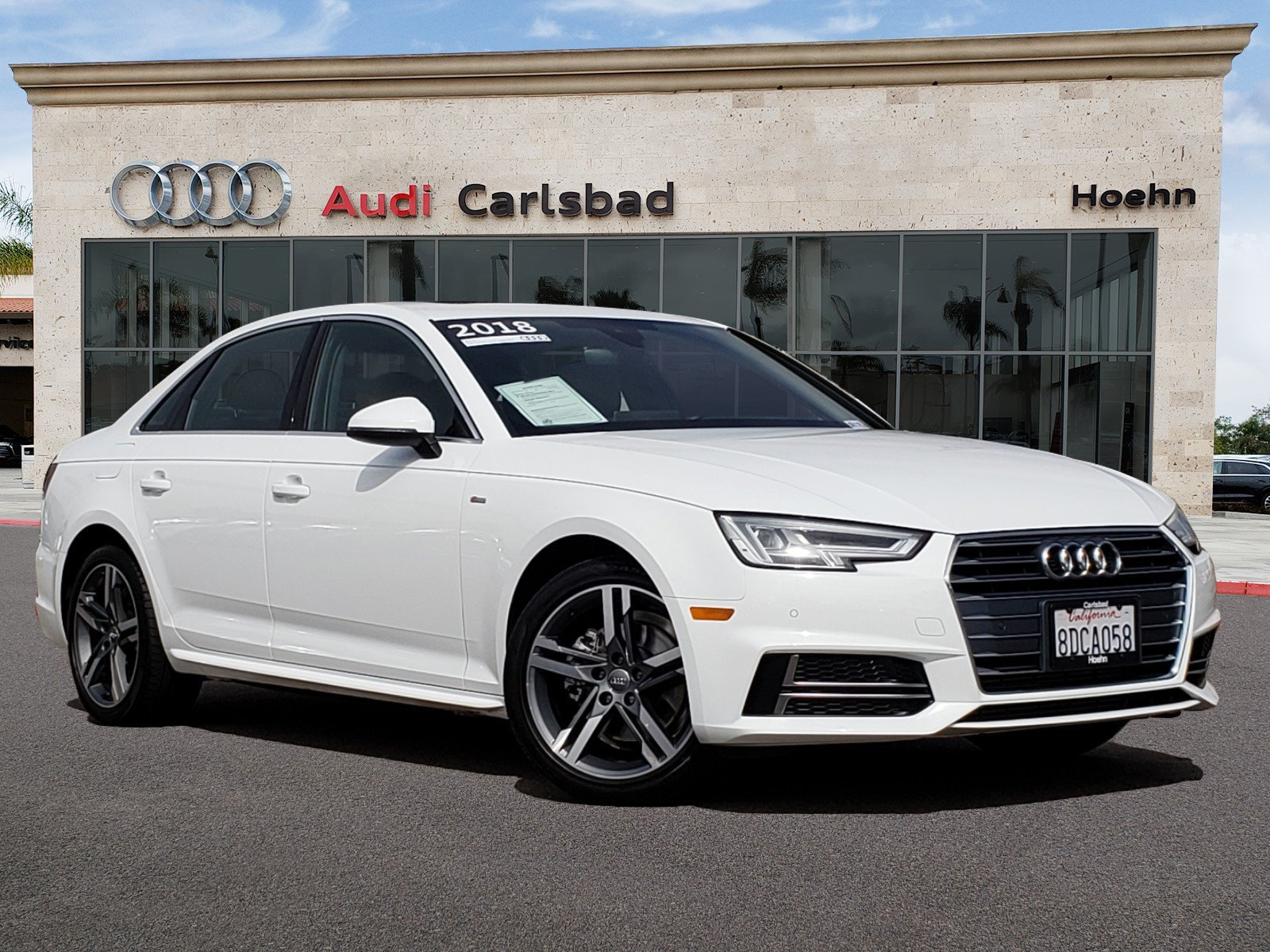 Pre-Owned 2018 Audi A4 2.0T FW Mult 2.0T