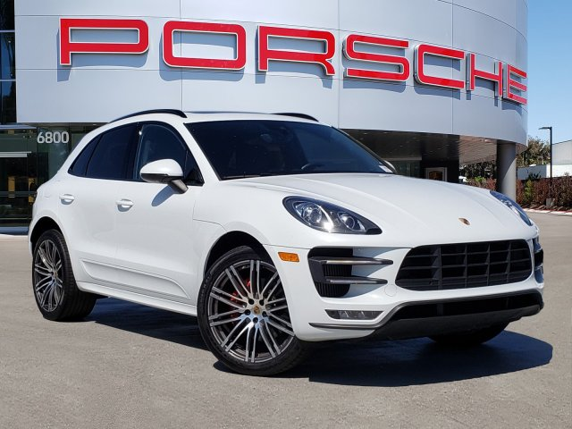 Porsche Macan Turbo >> Pre Owned 2017 Porsche Macan Turbo With Navigation Awd