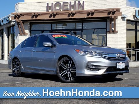 Pre-Owned 2017 Honda Accord Sedan Sport SE