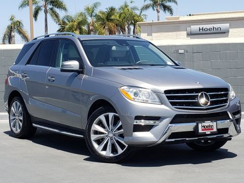 Pre-Owned 2013 Mercedes-Benz M-Class ML 550