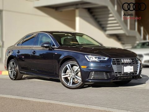 Pre-Owned 2017 Audi A4 2.0T