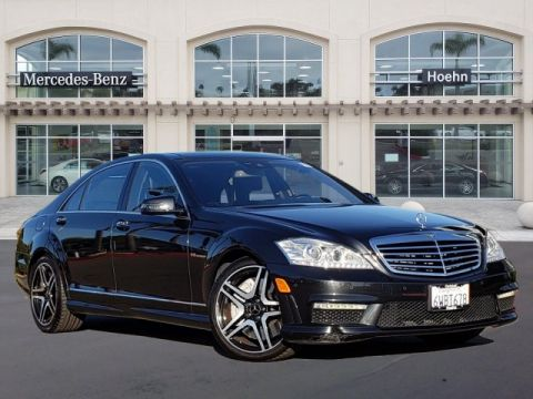 Pre-Owned 2012 Mercedes-Benz S-Class AMG® S 63