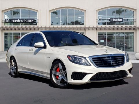 Certified Pre-Owned 2017 Mercedes-Benz S-Class AMG® S 63 4MATIC®