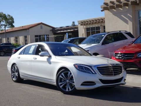 Certified Pre-Owned 2016 Mercedes-Benz S-Class S 550