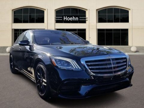 New 2019 Mercedes-Benz S-Class AMG® S 63 4MATIC®