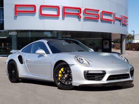 Pre-Owned 2018 Porsche TURBO S COUPE
